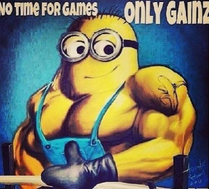 No time for games, only gains