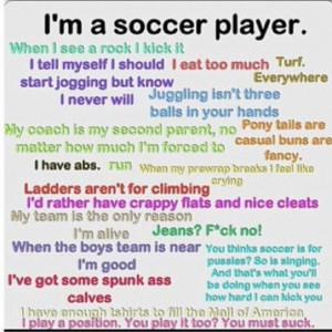 soccer quotes   Soccer quote   i live for Sports