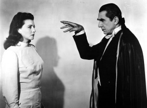 Bela Lugosi as Dracula in Abbott and Costello Meet Frankenstein (1948 ...