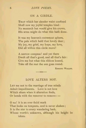Famous Love Poems Poetry