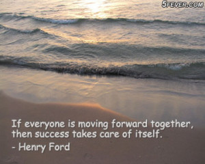 Heny Ford Quote on Team Work