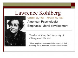 an analysis of morality in our society by lawrence kohlberg 2018-8-3 lawrence kohlberg's approach to moral education  renewal of our democratic society  prominent in the analysis of moral development.