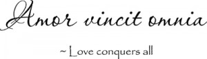 Love Conquers All | Wall Decal