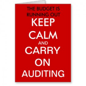 Carry Auditing Funny...