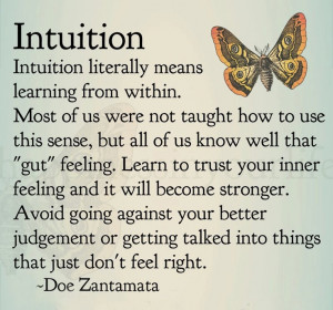 Follow your own heart and intuition about what to do. Trust yourself ...