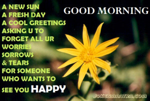 ... morning, Share on facebook, orkut and other social networking sites