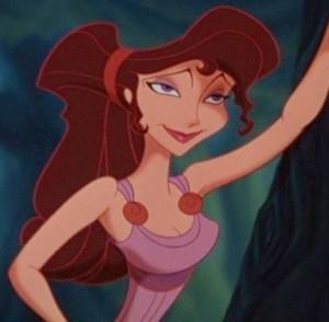 Megara , Meg for short, is the tritagonist of Disney's 1997 animated ...
