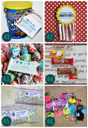 Good Luck Gift Ideas for School