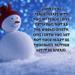 Bible Verse John 14 Let not your heart be troubled, neither let it be ...