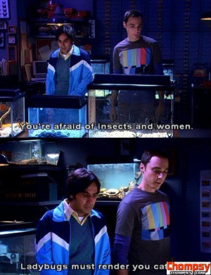 funny sheldon cooper quotes