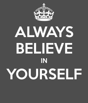 The Best Yet Always Believe...