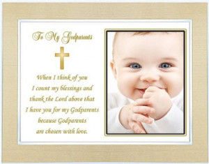 for Godparent from Godchild on Baptism or Christening Day - Godparent ...