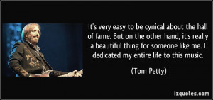 More Tom Petty Quotes