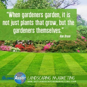 Landscaping Marketing Plans Consulting #Internet Marketing for ...