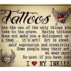 love my tattoos #tattoo #quotes