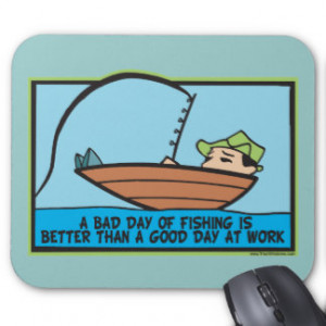 Funny Fishing Mousepads