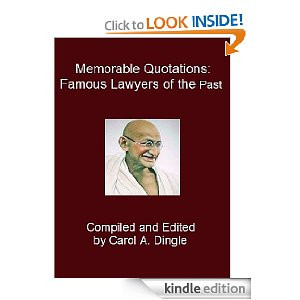 Memorable Quotations: Famous Lawyers of the Past