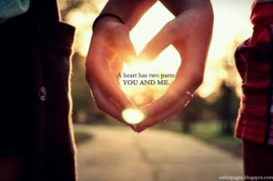 Your my better half!