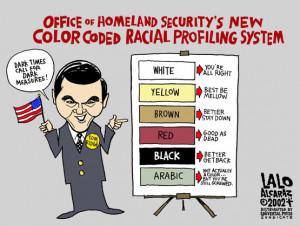 Riled Up Racial Profiling