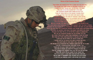 Written by The Wife of a Company-B 2 PPCLI Soldier