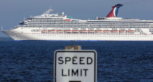 Carnival Cruise Lines' Triumph is pictured. | AP Photo