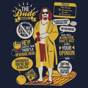 The Big Lebowski t-shirt Gallery