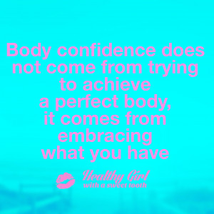 22 Healthy Girl Body Positive Quotes