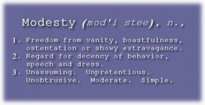 Modesty & Christianity