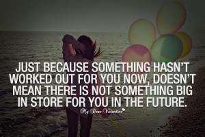 Just Because Something...