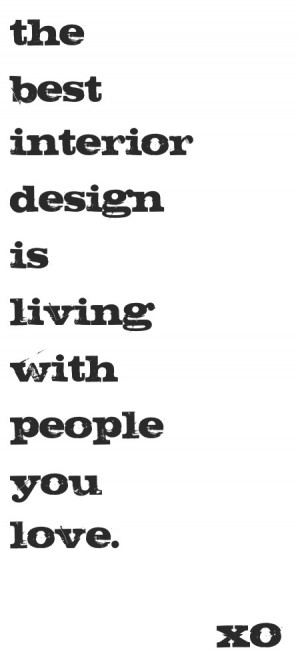 Interior Inspiration Quote Poster