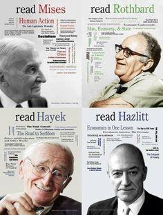 ... Rothbardian Libertarian, Murray Rothbard, Inspiration Quotes, Freewil