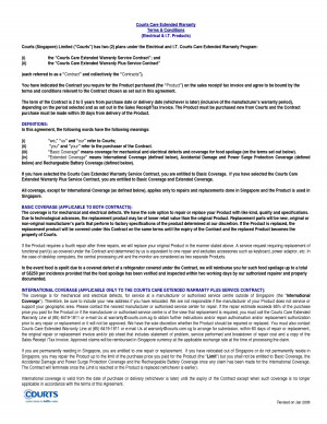 Extended Warranty Contract - PDF by fuh16595