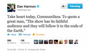 community dan harmon Six Seasons and a Movie nbc community the darkest ...