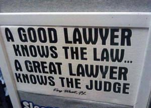 Get a good lawyer