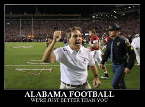 Alabama Football Image