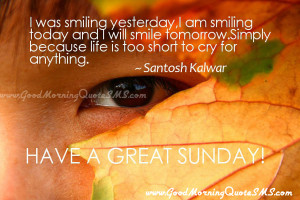 Good Morning Sunday Quotes – Sunday Morning Positive Messages ...
