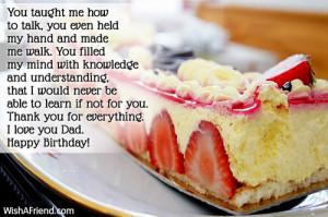 life because it is my hero's Birthday. It's you, dad! Happy Birthday ...