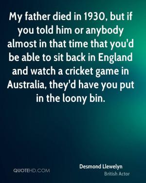 Desmond Llewelyn Quotes