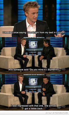 line 2. Ellen must have laughed 3. Wait a minute, is that George Lopez ...