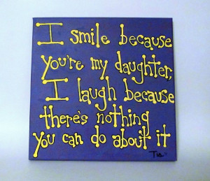 Quote - Daughter Gift - Mother Daughter Gift - 12x12 Canvas Quotes ...