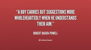 boy carries out suggestions more wholeheartedly when he understands ...