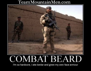 For all you badass military men out there!