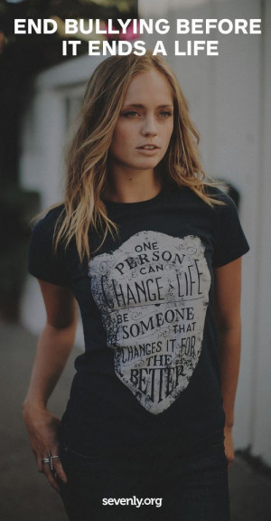 ... help them! Get this shirt and help stop bullying in schools http