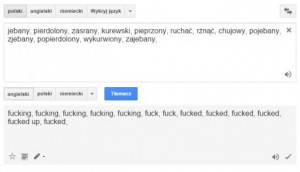 ... Google Translate Thanks though Polish Language Translation problems