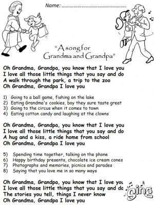GRANDPARENTS' DAY-