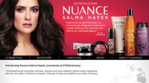The New Nuance Salma Hayek