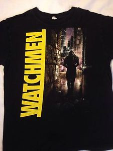 Watchmen-Shirt-size-Large-Rorschach-quote-comic