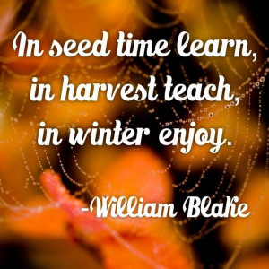 Fall Autumn Quotes Sayings Image William Blake picture