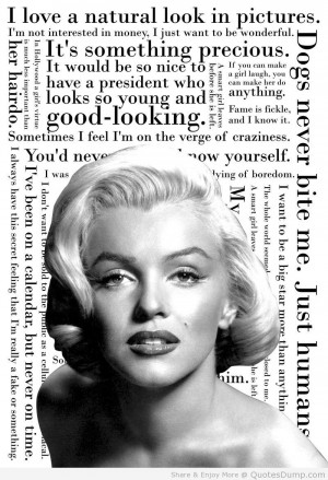 famous quotes by marilyn monroe Inspirational Quotes marilyn monroe ...