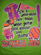 softball mom 3 item softballmom3 $ 18 95 sizes small